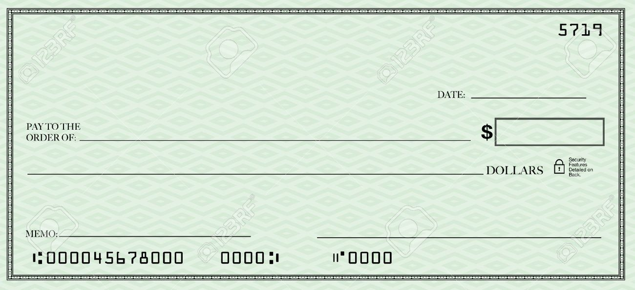 Diferencias entre un cheque en blanco y un cheque al for Giant check template free